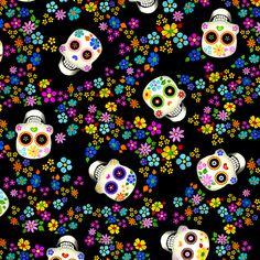 Dia de Muertos by Aurelia Manouvrier, via Behance
