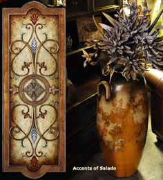 Decorating Accessories Online Catalog for Hacienda, French Country and Tuscan Decor