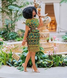 Layered Ankara Dress for Friday Outing - AfroCosmopolitan Short African Dresses, Ankara Long Gown Styles, African Print Dresses, Trendy Ankara Styles, African Fashion Ankara, Latest African Fashion Dresses, African Print Fashion, Style Africain, African Attire