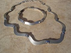 Sterling Silver 925 Contemporary Brushed by FemmeFatalFashion, $75.00