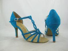ABH-1125-03 ABH-1125-03 Sky Blue Tango Dance Shoe