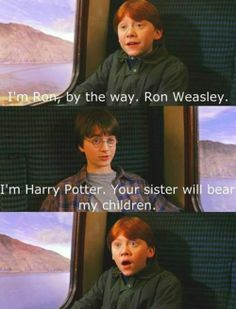Sometimes we need a break from the serious side of Harry Potter