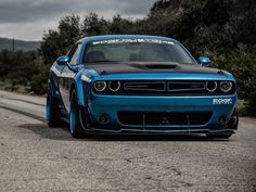 Challenger SRT by Edge Customs