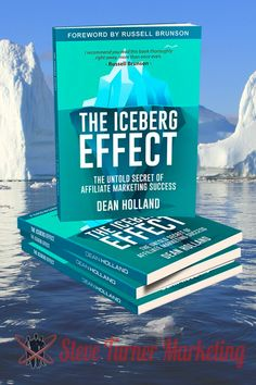 """Learn more details about Dean Hollands new book """"The Iceberg Effect"""". Grab your free copy of his book including bonus audio version and Masterclass. Latest Books, New Books, Content Marketing, Affiliate Marketing, Riveting, Master Class, Make Money Online, Dean"""