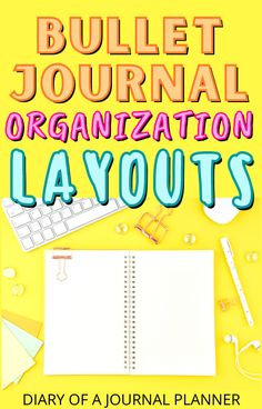 The most stunning bullet journal organization layouts to keep you on task! #bulletjournalideas #bulletjournallayouts Bullet Journal Hacks, Bullet Journal Printables, Bullet Journal Layout, Bullet Journal Inspiration, Bullet Journals, Weekly Planner Template, Printable Planner, Journal Organization, Bujo