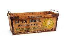 Vintage Banana Box on OneKingsLane.com