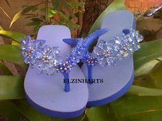 ELZINHARTS : sandalias havaianas decoradas