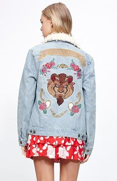 Disney's Beauty and the Beast: 12 Items to Shop from the Movie - Disney x Mink Pink jacket