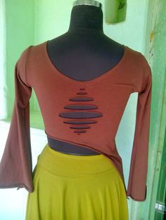 Long sleeve top by crossculturefashions on Etsy, $20.00
