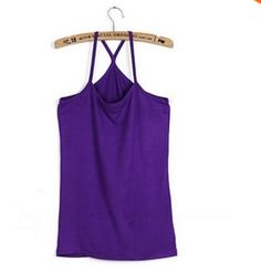 Cotton slim Y style spaghetti strap basice shirt 10 color for choose women's vest /cotton top tank camis Spaghetti Strap Top, Cami, Athletic Tank Tops, Casual, Vest, Cotton, Shirts, Clothes, Ladies Tops