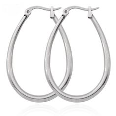 *** Never Fade*** Stainless Steel OVAL Hoop Earrings (Free Gift Box) in the Earrings category was listed for on 28 May at by MiemsJewels in Kriel Mens Chain Necklace, Leather Necklace, Amethyst Gemstone, Purple Amethyst, Sterling Silver Earrings, Silver Rings, Chains For Men, 316l Stainless Steel, White Topaz