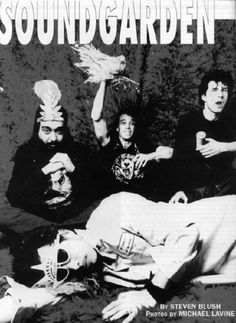 Passing out in the Soundgarden
