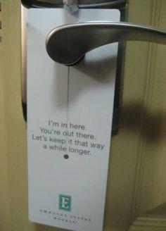 """12 Funniest """"Do Not Disturb"""" Signs (do not disturb, do not disturb sign) - ODDEE"""