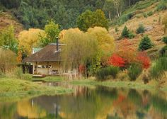Mkomazana Mountain Cottages, KZN #southafrica Wonderful Places, Beautiful Places, The Places Youll Go, Places To Visit, South Afrika, Mountain Cottage, Kwazulu Natal, Game Reserve, We Fall In Love
