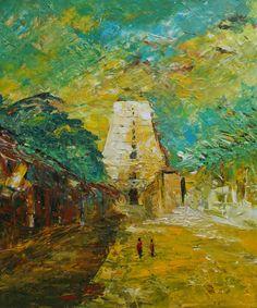 Acrylic  Canvas 50 X 60