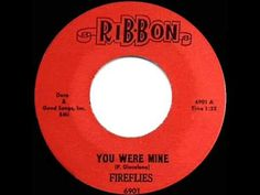 1959 HITS ARCHIVE: *You Were Mine* - Fireflies - YouTube