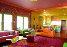 Interior Design, Hippie Style
