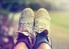 grungy shoes can be beautiful