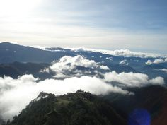 View at the highest highway point in Atok, Benguet, Philippines