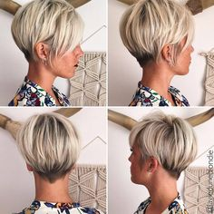 The great feature of this season's selection of the popular pixie haircut for women is how much style and personality you can pack into it! Each one of these new pixie haircuts has a decidedly different cut and color variation, so you can update to a fashionable 'new' you.  And that's what we all want …