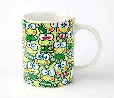 Keroppi 14oz Ceramic Mug: Busy Day