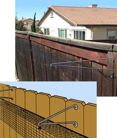 CAT FENCE-IN™ Barrier Kits    Keeps cats inside fence only.  Covers 24 ft $70 Covers 56 ft $115