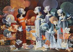 Tales of Angels - Aurika Piliponiene (Print)