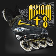 Mission Hockey - Axiom - The Truth is Here Roller Hockey Skates, Inline Hockey, Sport Sport, Sports, Hs Sports, Sport