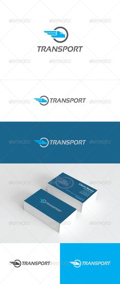 Transport Logo #GraphicRiver An excellent logo template in high quality and easy to use with editable font and colors. Included are: Ai