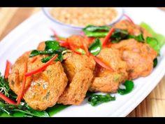 How To Make Thai Fish Cakes ทอดมันปลาสุดแสนอร่อย - YouTube