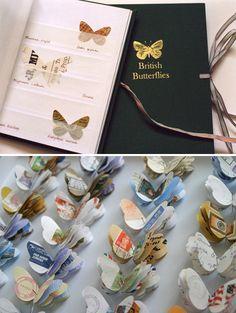 Stuff I Love: Paper Butterflies