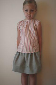 katie did - katie did journal - american summer - cute, simple little top