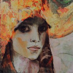 "Saatchi Online Artist: Suhair Sibai; Paint, 2012, Mixed Media ""No Fear!"""