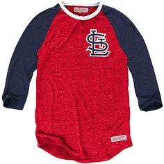 St. Louis Cardinals Hustle Play Henley - MLB.com Shop