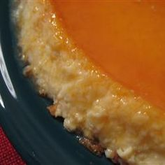 Flan Mexicano (Mexican Flan)...a creamy, rich, orange-scented custard displays a golden syrupy topping of caramelized sugar in this classic Mexican dessert.