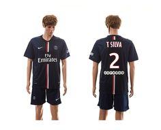 521664be7 Paris Saint-Germain Home  10 Ibrahimovic Soccer Jerseys 14-15 Season Navy  Paris