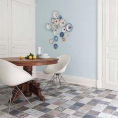 PVC Boden Gerflor Home Comfort 1895 Fado Azul  2m