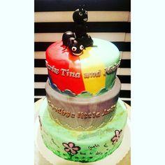 Ants Cake, rainbow