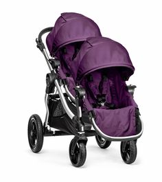 Baby Jogger City Select Silver Frame & Second Seat Onyx - This item is a final sale item.This City Select Stroller comes with a se Double Stroller For Twins, City Select Double Stroller, Double Stroller Reviews, Baby Jogger City Select, Best Double Stroller, Single Stroller, City Stroller, Baby Jogger Stroller, Twin Strollers