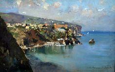 Sorrento by Carlo Brancaccio (Napoli 1861 - Parigi 1920)