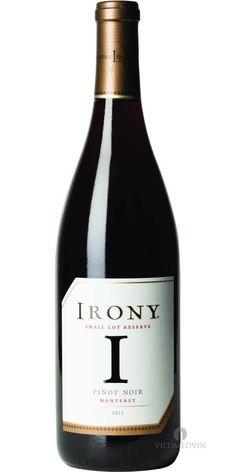 Irony Wines, Irony Pinot Noir, Monterey 2011