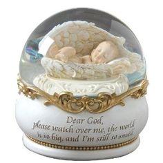 Baby Snow Globe for a Nursery