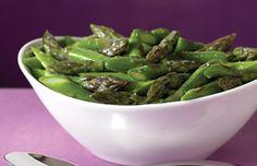 Ziploc® Brand Zip 'n Steam® Steamed Asparagus in Butter Sauce
