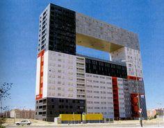 arquitectura neoplasticista edificio mirador Madrid
