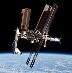 NASA has released unprecedented views of the International Space Station linked up with the shuttle Endeavour, as seen from a departing Russian Soyuz spacecraft. Italian astronaut Paolo Nespoli captured the images during just a few minutes on May 23, but it took more than two weeks for the views to follow a tortuous route to the Web.