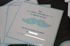 Chut, je scrappe !: Décoration de table d'anniversaire - thème moustac...