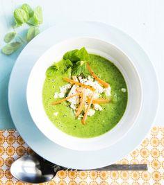 Avokado Spinach Soup - Avokado-pinaattikeitto, resepti – Ruoka.fi