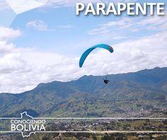 Práctique parapente en la capital de Bolivia, haga click en la imagen para saber mas