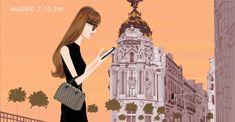 Jordi Labanda para Louis Vuitton: Europa