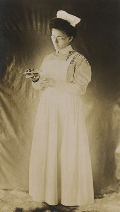 Lovely old nurse image